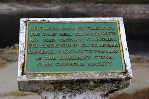 IMPACTED The Chisholm Stone at Glen Cannich