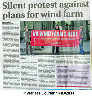 Inverness Courier 14/03/2014